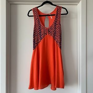 Free People Zebra Print Dress
